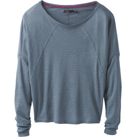 Prana W's Seabord LS Top Weathered Blue